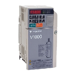 Inverter V1000, 400 V, ND: 2,1 A / 0,75 kW, HD: 1,8 A / 0,4 kW, IP20